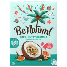 Be Natural Coco-nutty Cereal Coconut Spelt & Fig