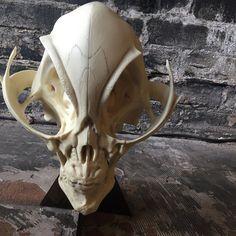 Original Mat Falls alien skull $200