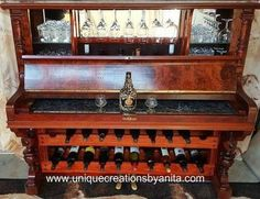 how to repurpose a piano into a bar drinks cabinet, repurposing upcycling, shelving ideas, woodworking projects, Repurpose Piano int bar