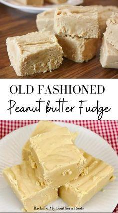 Best Peanut Butter Fudge, Microwave Peanut Butter Fudge, Candy Recipes, Sweet Recipes, Dessert Recipes, Old Fashion Fudge Recipes, Fudge With Marshmallow Cream, Planning Budget, Menu Planning