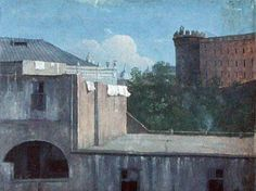 Buildings in Naples with the north-east side of Castel Nuovo, 1782 by Thomas Jones National Museum Of Wales, Thomas Jones, Best Poems, Grand Tour, East Side, Naples, Art World, Castle, Photos