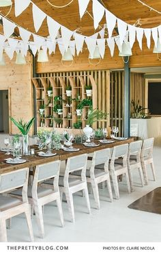 The incredibly beautiful Nordic design with a focus on simplicity makes this wedding special.