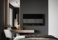 "Apartment in Kharkiv ZHK ""Dom na Sokol'nikakh"" - Dezign Ark (Beta) Home Room Design, Dream Home Design, Home Interior Design, Modern Luxury Bathroom, Bathroom Design Luxury, Living Room Tv Unit Designs, Cool House Designs, Apartment Design, House Rooms"