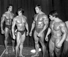 Lou Ferrigno Arnold Schwarzenegger