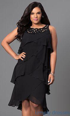 Tiered Sleeveless Short Dress