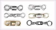Use swivels for making jewelry