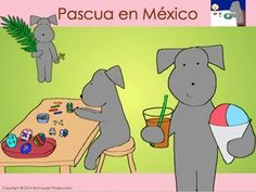 """Felices Pascuas from Mexico!  In Easter in Mexico or Pepper y Pascua"""" Pepper…"""