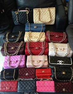 Are you looking for designer handbag inspiration? Check out these 16 various styles , Chanel! Chanel Purse, Chanel Handbags, Purses And Handbags, Leather Handbags, Chanel Bags, Designer Handbags, Designer Bags, Gucci, Fendi