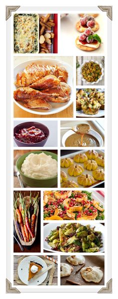 Thanksgiving: Menu Inspiration