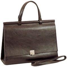 Woman Designer Briefcase Business Bag Handbag Brown