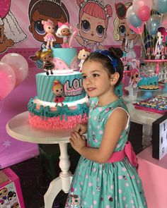 6th Birthday Parties, Diy Birthday, Surprise Birthday, Lol Doll Cake, Happy Party, Doll Party, Lol Dolls, Girl Cakes, Party Cakes