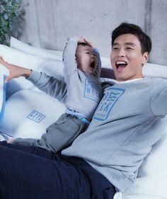 Superman Cast, Superman Kids, Korean Babies, Asian Babies, Lee Dong Gook, Super Man, Baby Fever, Kids And Parenting, Mehndi