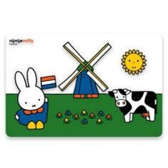 Nijntje Weiland kinderplacemat