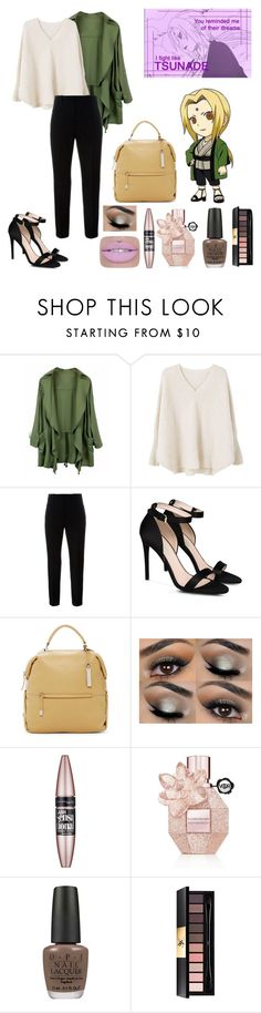 """""""tsunade"""" by levatzy-pandita ❤ liked on Polyvore featuring MANGO, Marni, STELLA McCARTNEY, Vince Camuto, L'Oréal Paris, Viktor & Rolf, OPI and Yves Saint Laurent"""