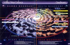 Star Trek Map | Below - Maps of the galaxy in the Star Trek universe + interior maps ...