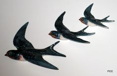 Swallows for the vintage inspired house...
