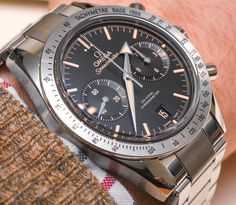 Omega Speedmaster '57 'Vintage' Watch Hands-On, 'George Clooney's Choice'
