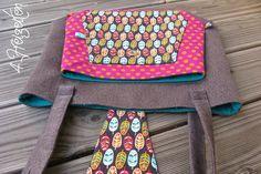 4 Freizeiten: Nähen: Taschenspieler 2 - Multitasche, Farbenmix, Tasche mit 3 Fächern und Durchsteckfach, Baguetttasche