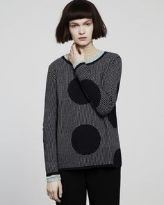 Giant polka dot sweater by Chinti and Parker meets Patternity - £420