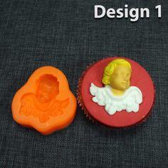 silikonform für engel muffins