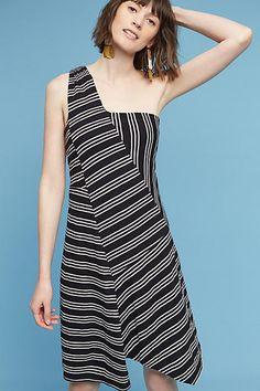 Maeve Moka One-Shoulder Dress, affiliate link