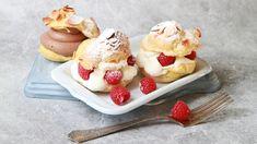 Fastelavnsbakkels Waffles, Sweet Treats, Cheesecake, Food And Drink, Pudding, Bread, Baking, Breakfast, Desserts