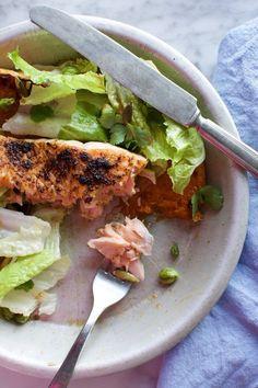 A main-course salmon