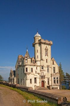 Dunselma Castle, Strone Point near Dunoon, Scotland, United Kingdom