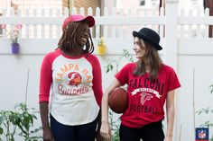 When you rep the Atlanta Falcons or the Tampa Bay Buccaneers, keep it backyard bright in NFL athletic wear.