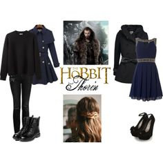 """""""The Hobbit Thorin"""" by tessabatie on Polyvore"""