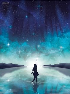 Flowers and fabrics fantasy landscape, fantasy art, cute wallpapers, drawing sky, drawing Galaxy Wallpaper, Wallpaper Backgrounds, Fantasy Landscape, Fantasy Art, Anime Galaxy, Anime Scenery, Night Skies, Starry Night Sky, Cute Wallpapers