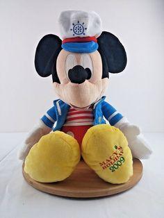 Macy's Holiday Edition Mickey Mouse Sailor Sea Plush Stuffed Toy 2009 #DisneyMacys