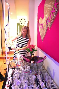 Decorating A Modern Home: Kate Spade inspired party part 2