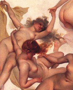 Faust's Vision detail 1, 1880 - Luis Ricardo Falero -