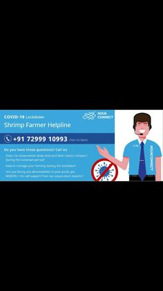 We launched an emergency toll-free helpline number 72999 10993 to support Indian shrimp & fish farmers during the pandemic lockdown. Call us on 72999 10993 for any assistance! Sustainable Farming, Research Institute, Water Quality, Machine Learning, Insight, Aqua, This Or That Questions, Education, Farmers
