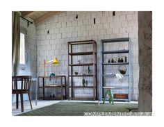 Libreria Pina struttura in legno massello