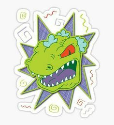 Rugrats stickers featuring millions of original designs created by independent artists. Stickers Cool, Tumblr Stickers, Laptop Stickers, Rugrats, Geek Wallpaper, Simpsons Party, Pixel Art, 90s Cartoons, Aesthetic Stickers