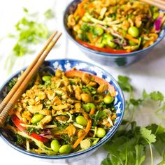 You won't believe this AMAZING Spicy Raw Thai Salad!! So healthy and the taste is off the charts!!