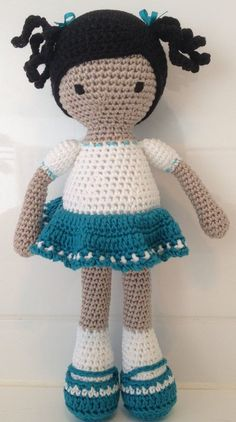 Sweet Crochet Dolls project by Anne S