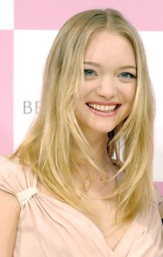 Gemma Ward is my all-time favorite model. Hands down.