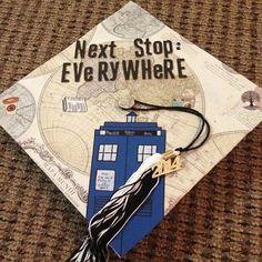 My grad cap. Definitely.