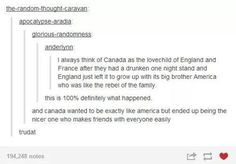When they shipped America and England. | 29 Times Tumblr Completely Got What It Means To Be British