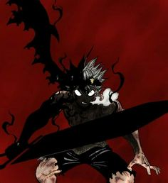 """Black Clover: The SHONEN ANIME """"Black Clover is actually good"""" this sentence has been said by many Anime fans who only recently st. Manga Anime, Fanart Manga, Anime Demon, Manga Art, Anime Art, Sad Anime, Black Clover Asta, Black Clover Anime, Ps4 Black"""