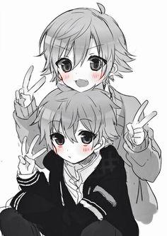 Anime Boy Twins