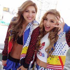 ぱぁ☆☆☆ おぱようございマスッ!!! #cyberjapan #adidas #adidasOriginals #ootd #shibuya#109#event #makeup #girl #Sunday #me #cjd_karen #渋谷 #アディダス #fashion #ritaora #cjd_karen