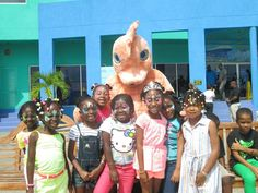 Kids love our mascot Subby the Seahorse - Atlantis Submarines is a perfect activity for the entire family (esp. kids)