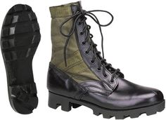 Olive-Drab-Leather-Military-Jungle-Boots