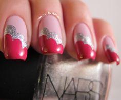 Valentine's Cloud Nails