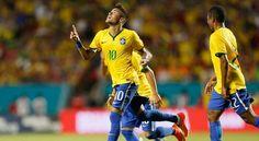 Portal Esporte São José do Sabugi: Neymar faz golaço de falta e Seleção bate Colômbia...
