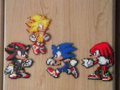 Perle di Sonic roster Extravaganza perler